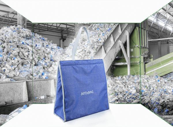 Fabricant de sac cabas en RPET