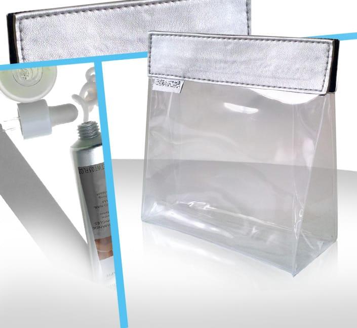 trousse cosmetique transparente beaute