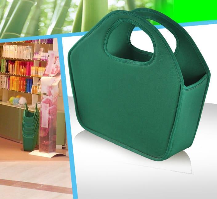 Création de sac caisse magasin cosmetique