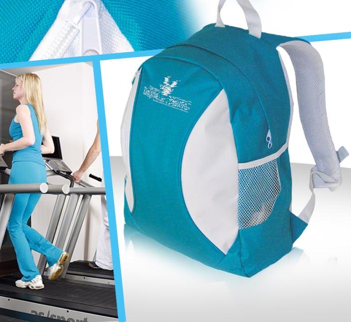 sac a dos salle de sport polyester