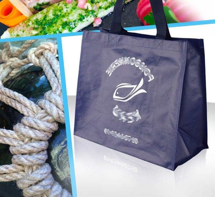 sac cabas poissonnerie traiteur