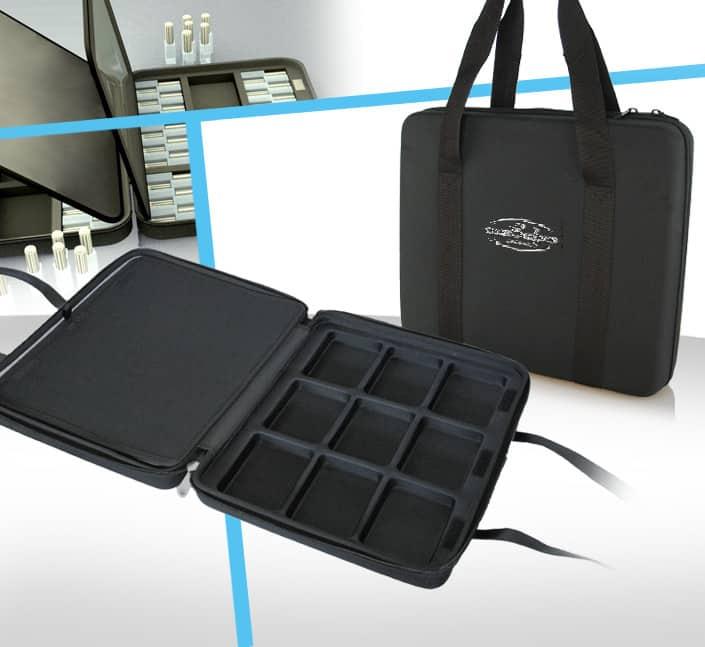 Fabricant de sac transport echantillons parfums pour commercial