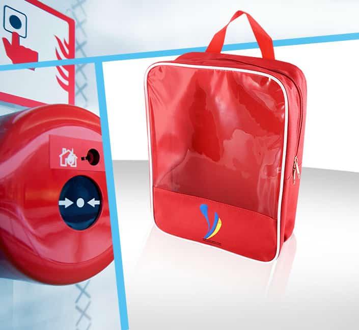 Fabricant de sac transparent offre produit sécurité feu sur-mesure