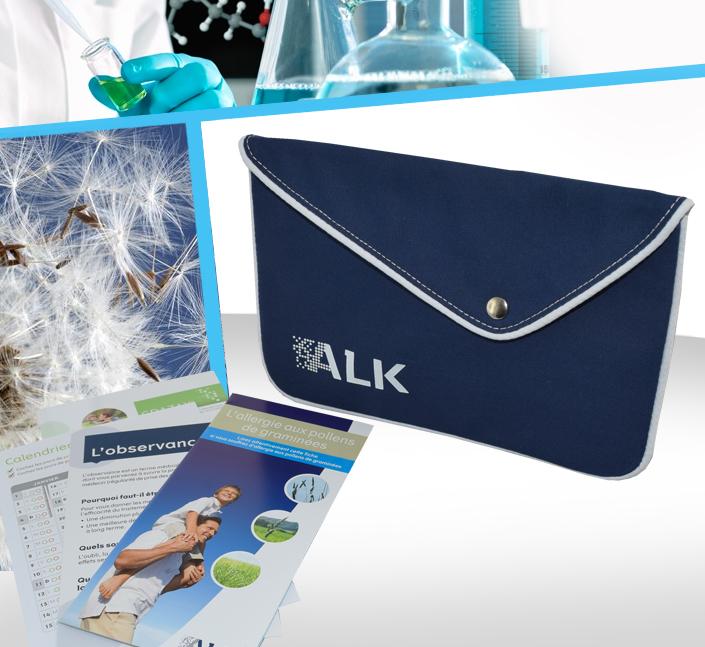 Fabricant de pochette patient porte documents allergies