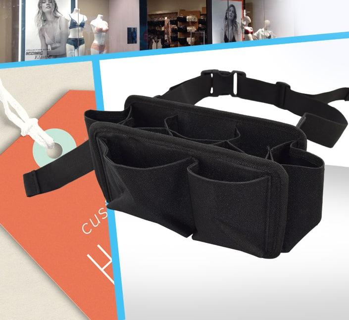 Fabricant de ceinture rangement etiquette magasin