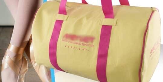Fabricant de sac de sport danse polyester personnalisables